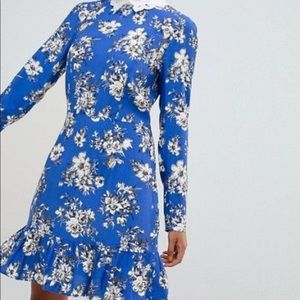 ASOS collared dress